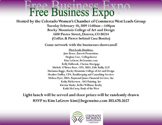 CWCC 2009 Business Expo