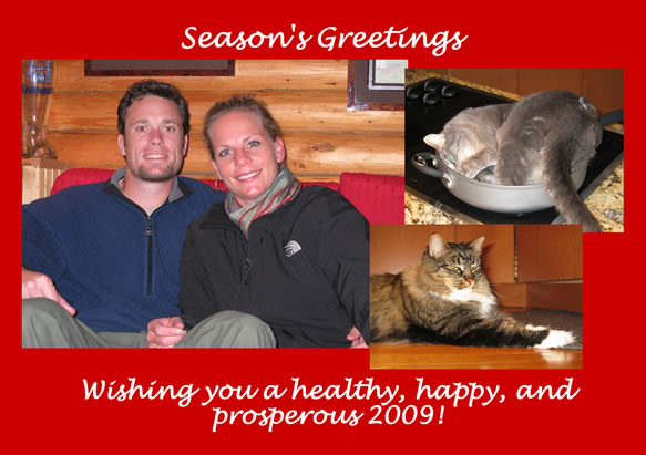 Holiday Message 2008