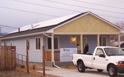 Finished Habitat House
